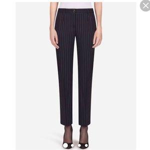 Dolce & Gabbana Pinstripe Trousers